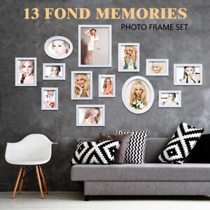 79606b8273a Image is loading Modern-White-Family-Multi-Picture-Photo-Wood-Frames-