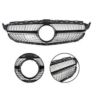 Front-Diamond-Grille-de-calandre-Pour-Benz-W205-C-Class-C250-C300-C400-15-2018