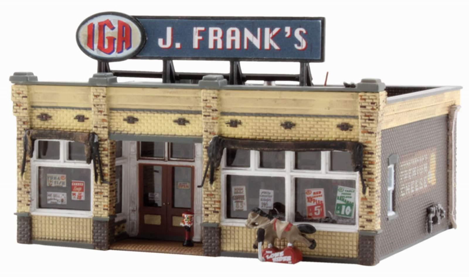 garantizado Woodland Scenics construido y listo J. Frank's abarrojoes edificio escala escala escala n  Nuevos productos de artículos novedosos.