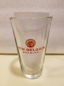 New-Belgium-Brewing-Beer-Pint-Glass-16-oz-Good-Condition