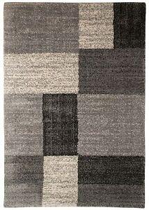 Tapis-Shaggy-a-poils-longs-ABART-RECTANGLE-SOUPLE-micro-polyester-salon-gris