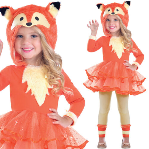 Fox Dress Childrens Animal Fancy Dress Costume