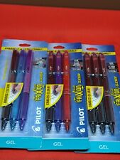 New Listing3 Pack Of 3 Pilot Frixion Ball Clicker Erasable Amp Retractable Pens 9 Total