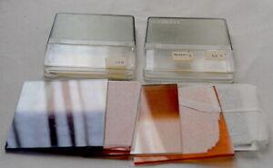 lot 7 filtres Cokin Systeme A dont 2 avec boites