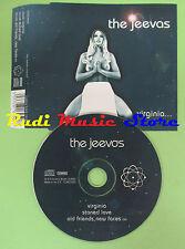CD Singolo THE JEEVAS VIRGINIA 2002 UK COWCD002 (S16) no mc lp dvd vhs