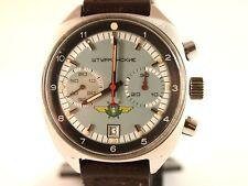 POLJOT  Soviet Watch. Vintage Rare. Sturmanskie, chronograph. Stainless steel.