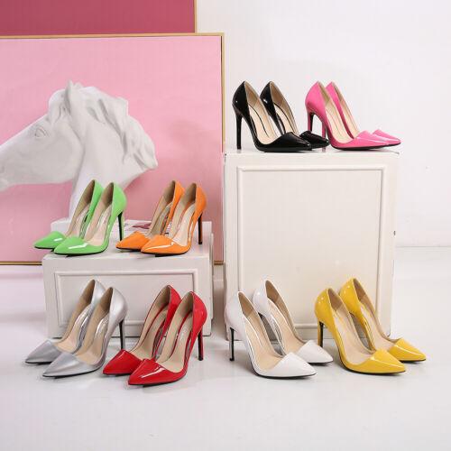 Men/'s High Heels Pink Pumps Pointy Crossdresser Drag Queen Costume Large Shoes
