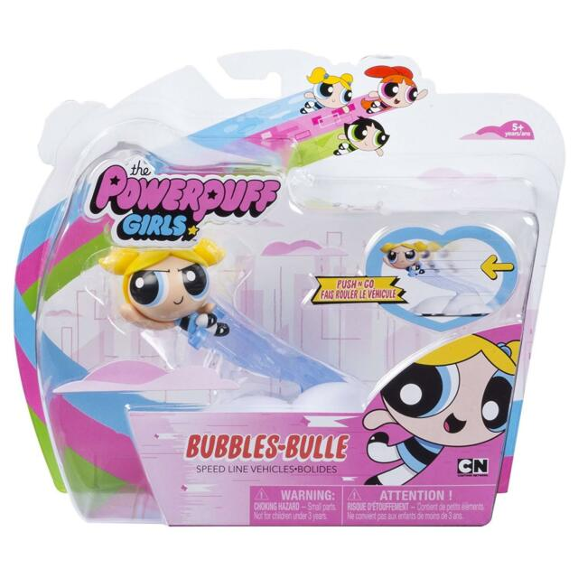 Buttercup /& Bubbles The Powerpuff Girls Speed Line Vehicles Blossom NIP
