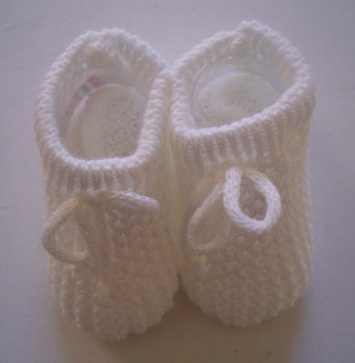 Bebé Bebés Niñas Niños Botines Patucos Calcetines Zapatilla de 0 - 6 Beige Rosa Azul Blanco