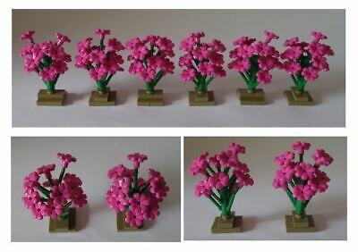 Lego City Pflanzen Blüten 2x2 in Gelb 6x Blume
