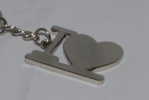 Herz CrisMa Schlüsselanhänger I love mit ihrer Wunschgravur