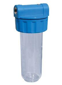 Contenitore cartuccia filtro acqua depurata 10 39 39 attacco 1 39 39 made in italy ebay - Acqua depurata in casa ...