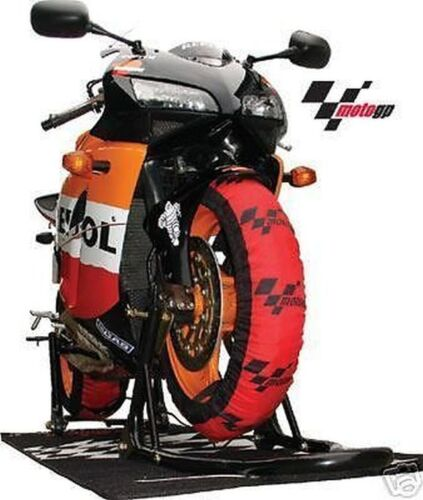 COPPIA pneumatici più caldo tyrewarmers MOTOGP SUPERBIKE modello 200er 2019 New OVP