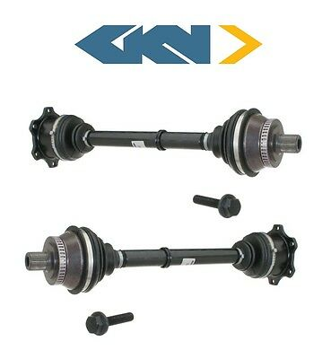 For Audi A6 Quattro AWD 05-11 Pair of Front CV Axle Shaft Assies SurTrack Set