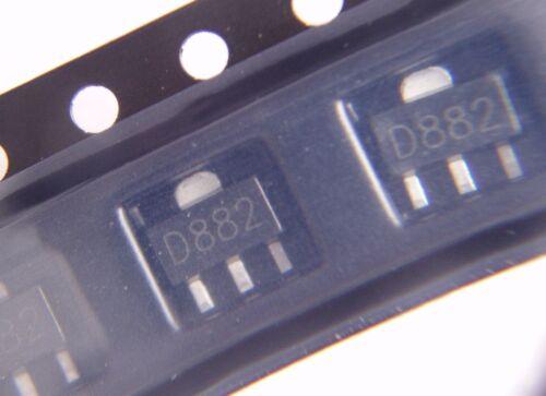 SOT-89 transistor D882 D882P 2SD882 2SD882P NPN 30V 3A .C74.3