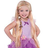 Disney Princess Child Rapunzel Wig -new