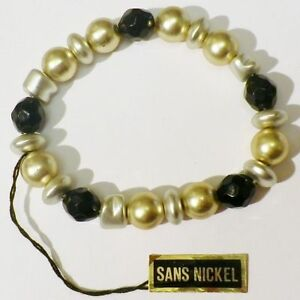 bracelet-bijou-retro-perle-couleur-or-argent-noir-poli-brillant-extensible-A13