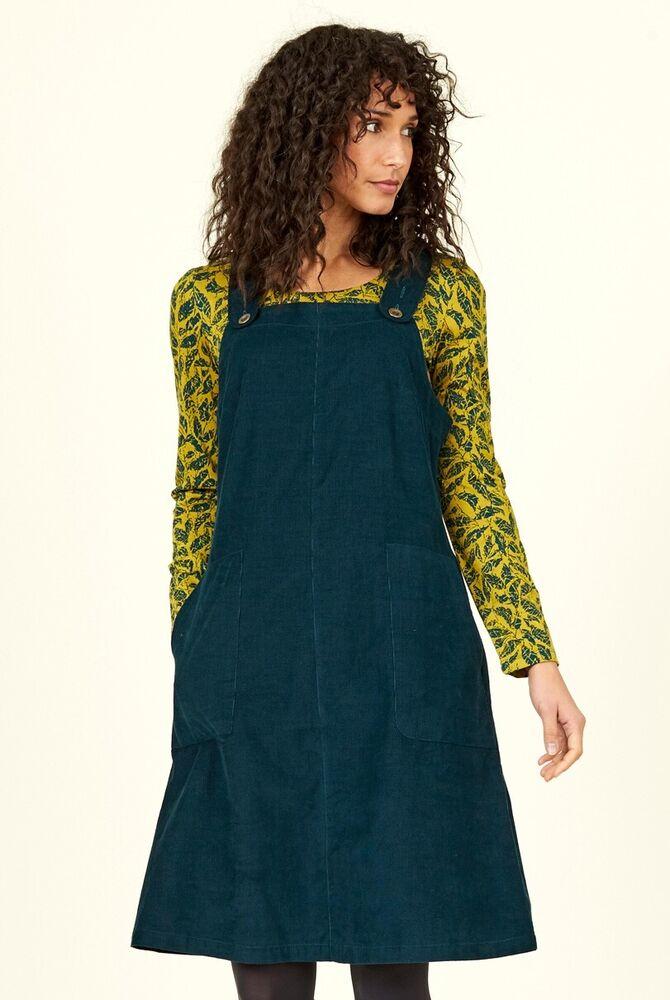 55% De Réduction Promotion-nomades Coton Aiguille Cordon Dungaree Dress Commerce Équitable-cd2012