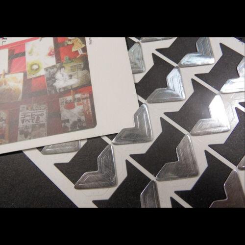 DIY Photo Corner Scrapbooking Craft Photo Corner Protector Sticker DSUK
