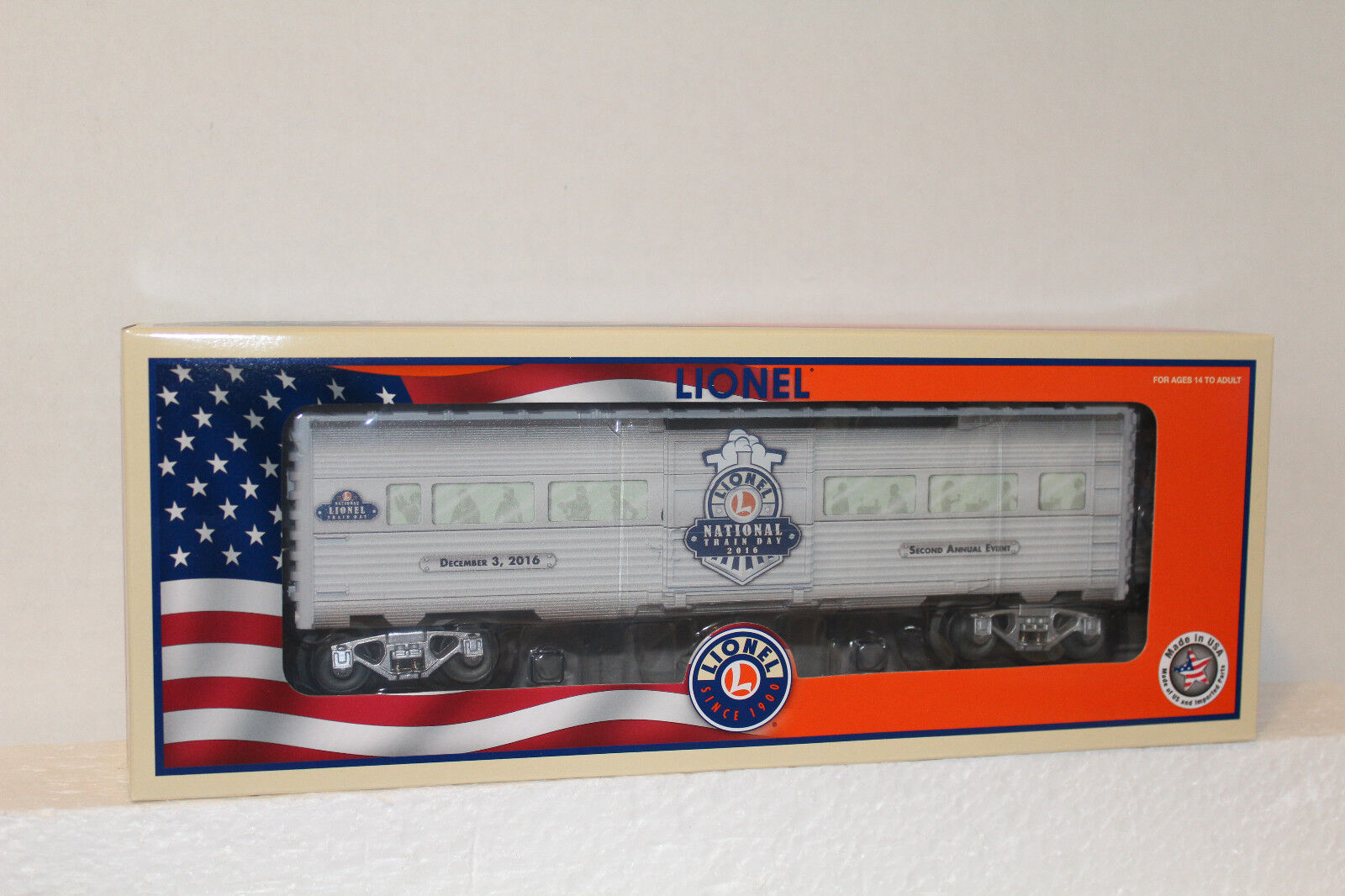 Lionel  83498 2016 National Train Day boxcar
