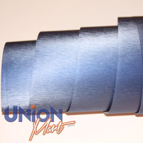 acero Vinilo Wrap película Surtidos Colores Premuim grado 75cm Cepillado aluminio