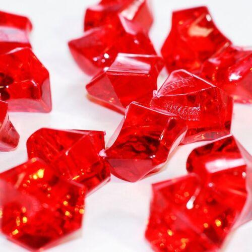 1lb Acrylic Rock diamonds table scatter confetti Floral Arranging Vase filler