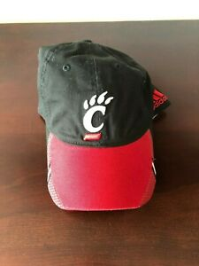 CINCINNATI-BEARCATS-FOOTBALL-TEAM-PLAYER-ISSUED-SIDELINE-ADIDAS-HAT-NEW-OSFA