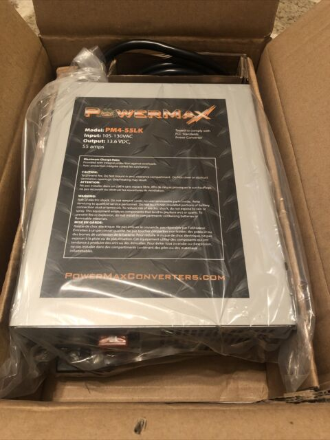 Powermax 12v 55 Amp Charger Converter Power Supply Pm3