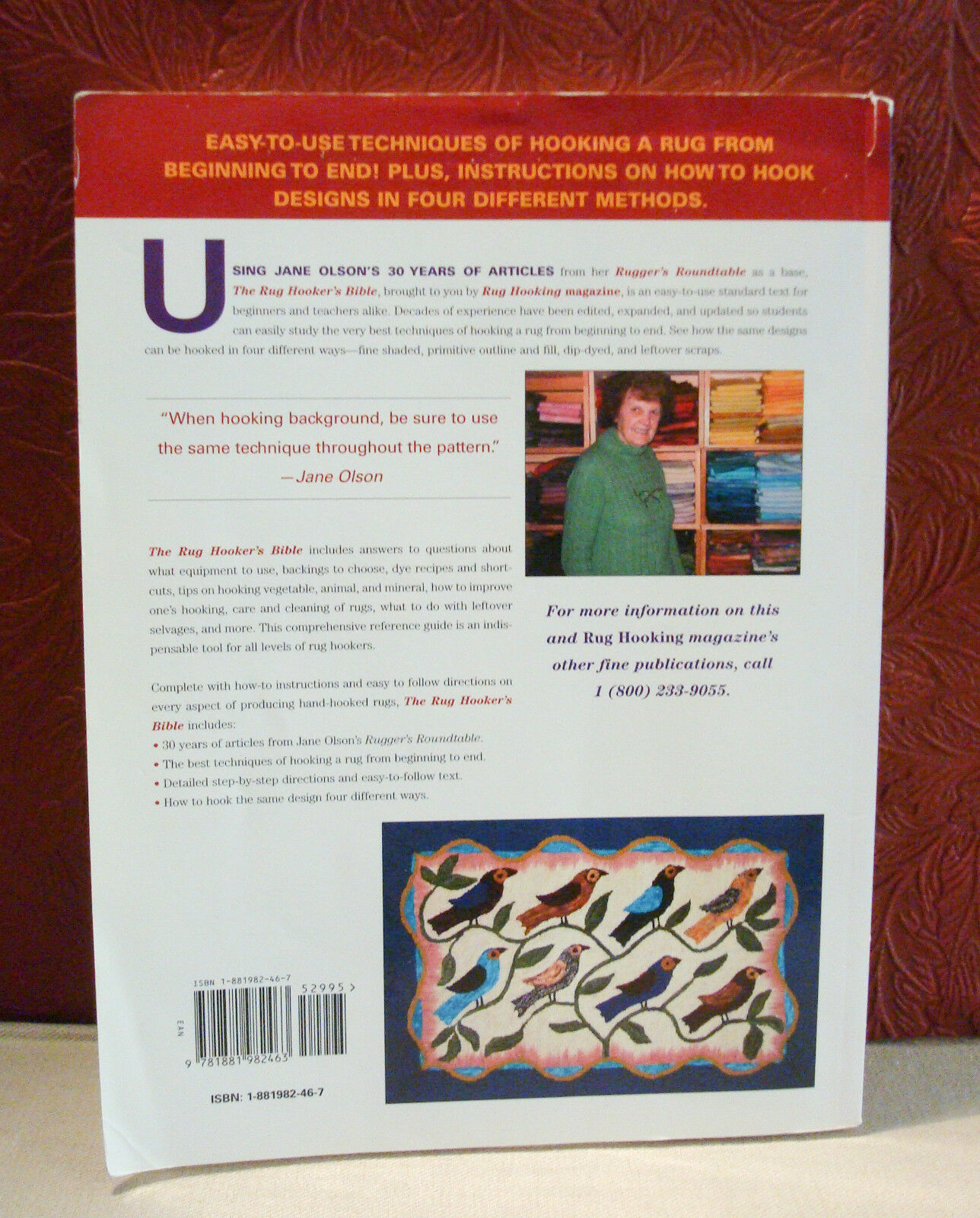 The Rug S Best From 30 Years Of Jane Olson Rugger Roundtable By 2006 Paperback Ebay