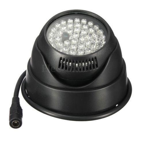 2 S150 360° Waterproof 48LED Illuminator Night Vision Light CCTV Infrared Lamp