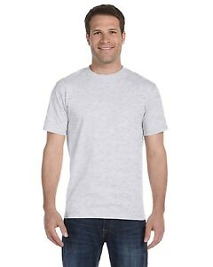 Hanes Mens ComfortSoft Heavyweight 100 Cotton Tagless T Shirt 5280
