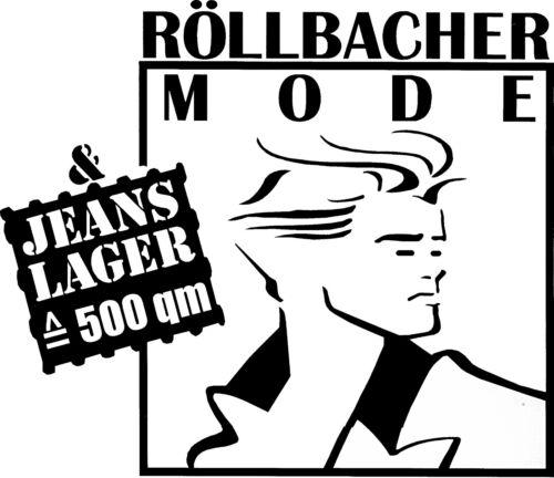 Seidenglanz Gr damen 42 Röllbacher 40 Wirbelknöpfe Stehkragen Bluse Mode 4x6Rt4w8