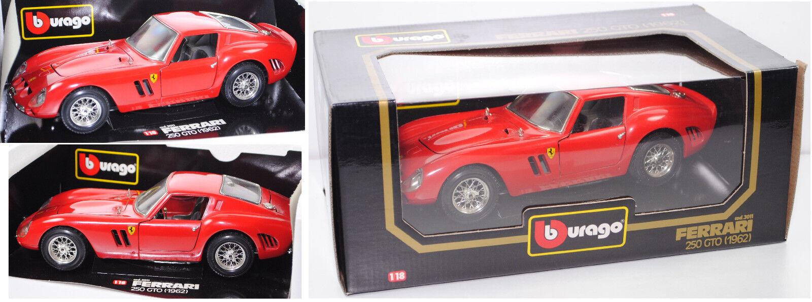 Bburago 3011 FERRARI 250 GTO Verkehrsrouge, 1 18