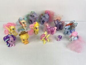 Lot Of 13: My Little Pony MLP Figures Mixed/Assorted + McDonald Ponies
