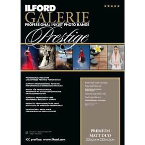Ilford GALERIE Prestige Premium Matt Duo DIN A4, 25 Blatt, GPMD, 200 g/qm