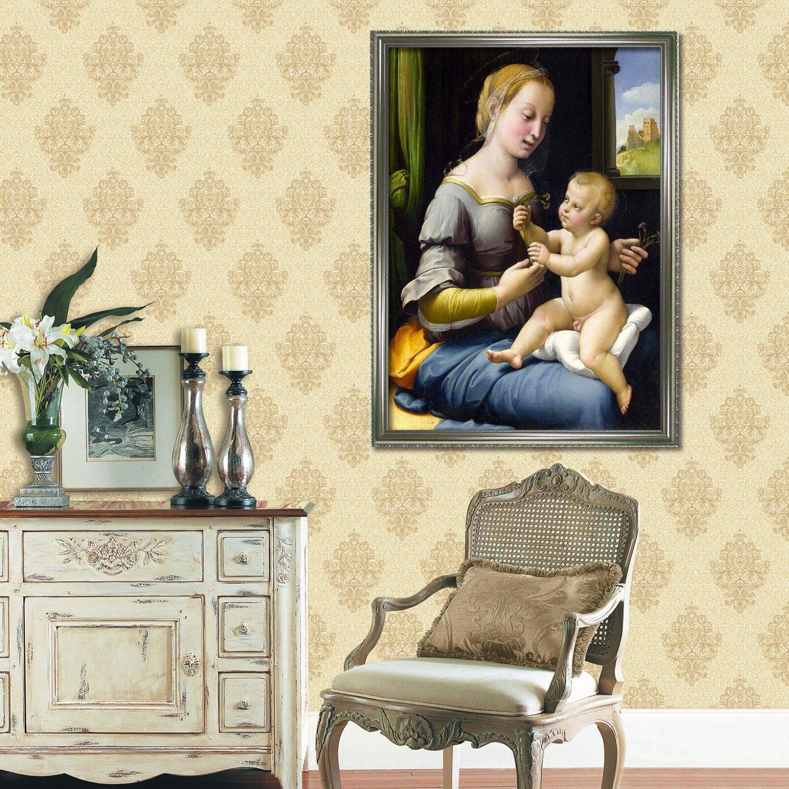 3D Calin Bébé 69 Framed Poster Home Decor imprimer peinture art AJ UK