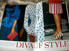 Princess Diana Diva of Style Dazzling Debut to Divorce Photo Album 1996 book