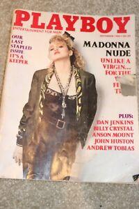 PLAYBOY September 1985 MADONNA cover/pictorial, Brigitte