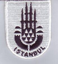 Istanbul Stadtwappen Patch,Aufbügler,Aufnähner Stadt Wappen,Bosporus,Türkei
