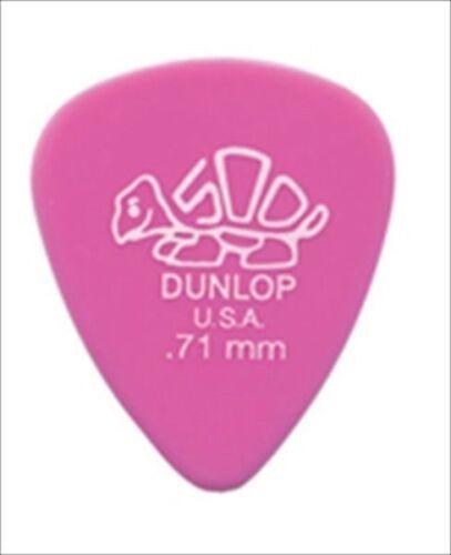 Dunlop Guitar Picks  Delrin 500  72 Pack  .71mm  41R.71