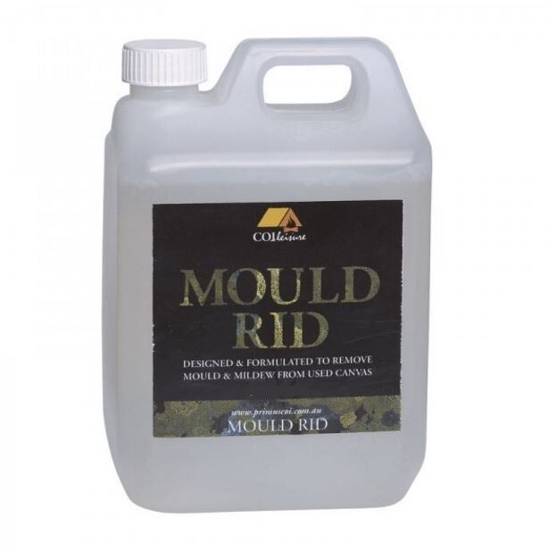 NEW PRIMUS  MOULD RID MILDEW REMOVER USE CANVAS TENT SWAGS BAGS CLEANER 1 LITER  no minimum