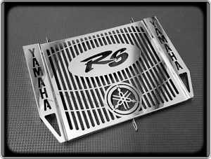 Polished-Radiator-Cooler-Grill-for-YAMAHA-R6-1998-to-2002-YZF-600-R