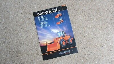 Qualified Mega 160 & 200 V Daewoo Wheel Loader Brochure M160-m200v Uk 06/04 Other Tractor Publications Tractor Manuals & Publications