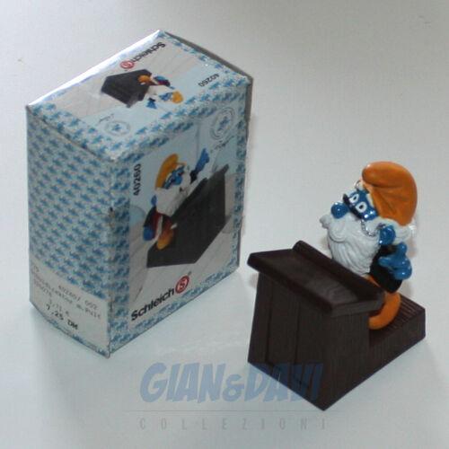 PUFFO PUFFI SMURF SMURFS SCHTROUMPF 4.0260 4.0260 4.0260 40260 Principal Nonno Maestro Box 7A bf247e