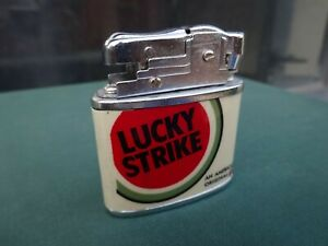 LUCKY-STRIKE-Gasolina-ENCENDEDOR-MECHERO-LIGHTER-ACCENTINO-FEUERZEUG
