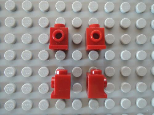 Lego 10 x Stein Snot Konverter Lampenstein Headlight 4070 dunkelrot