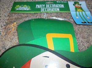 Details About Leprechaun St Patrick S Day Party Decoration Long Legs 48 Inch New