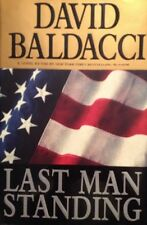 🇺🇸 Last Man Standing David Baldacci HardCover Book True  First Edtion VF NEW🗡