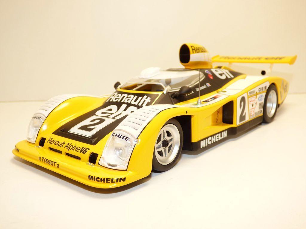 Alpine renault a442 le mans 1978 1 18 a442b