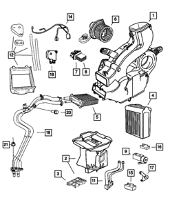 CHRYSLER OEM-Control Module 4885482AC